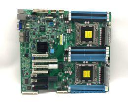 Sata gb online shopping - original stocks dual x79 server motherboard Z9PR D12 lga2011 C602 support xeon V2