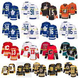 Опт НХЛ Торонто Мэйпл Лифс Джерси Джон Таварес Калгари Auston Matthews Бостон Брюинз Патрис Бержерон Anaheim Ducks Гецлаф Хоккей