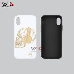 Case Samples Australia - Free Sample Custom Logo Natural Wood TPU Frame Wood Cell Phone Case For iPhone 5 6 7 8 Plus X XS XR Max