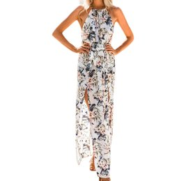 Maxi Chiffon Jurk.Shop Long Printed Chiffon Maxi Dresses Wholesale Uk Long Printed