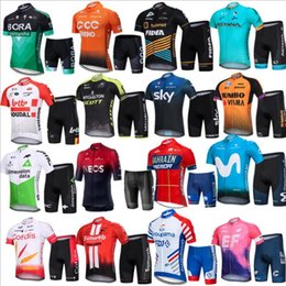 summer shorts pant suit women Canada - 2019 Tour of the law Jersey short sleeve suit male breathable and quick-drying road mountain bike Jersey men's summer jacket pants