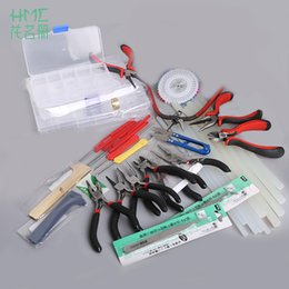 $enCountryForm.capitalKeyWord Australia - New Arrival Black Red Pliers Tools Equipment Tweezers Repair Tools Chain Cutter DIY Beading Making Repair Tool Kit