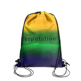 $enCountryForm.capitalKeyWord UK - Drawstring Sports Backpack Taylor Swift reputation pop music vintage convenient school Pull String Backpack
