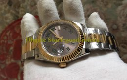 crystal flutes NZ - 8 Style Luxury Mens Watches BP Factory Automatic Men Wimbledon Roman Watch Yellow Gold Steel 116333 Crystal 126333 Datejust Flute Bezel 41mm