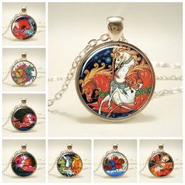 necklaces pendants Australia - Fly Horse Pendant Pegasus Necklace Rainbow Mythical Glass Cabochon Pendant Necklace Animal Jewelry Birthday Gift Christmas Gift