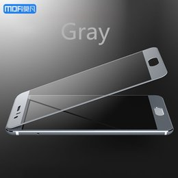 """$enCountryForm.capitalKeyWord Australia - For Huawei Honor 9 Glass Tempered Glass Gray Mofi For Huawei Honor 9 Screen Protector Blue Gold 2.5d Full Cover Honor9 5.15"""" J190505"""