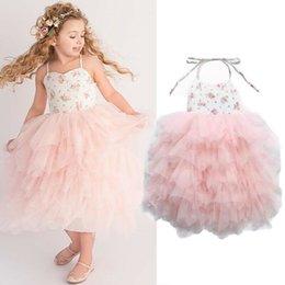 $enCountryForm.capitalKeyWord Australia - 2019 New Infant Baby Kids Children Girl Lace Tutu Flower Dress Bridesmaid Party Formal Pageant Birthday Wedding Princess