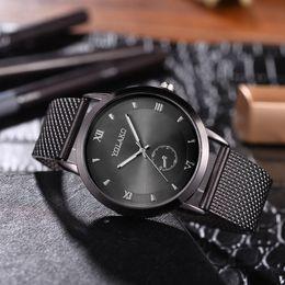 $enCountryForm.capitalKeyWord NZ - Fashionable High Hardness Glass Mirror Men And Women General Mesh Belt Watch ladies watches top brand luxury casual wristwatch