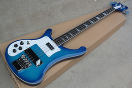 $enCountryForm.capitalKeyWord Canada - Factory Custom Left Handed Blue 4-string Electric Bass Guitar with Rosewood Fingerboard,Chrome Hardwares,Offer Customized