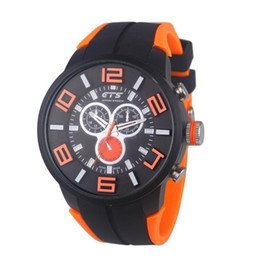 wholesale silicon watches UK - Topselling Mens Watches Luxury Quartz Casual Watch Men's Luxury Silicon Analog Quartz Sport Wrist Watch Waterproof