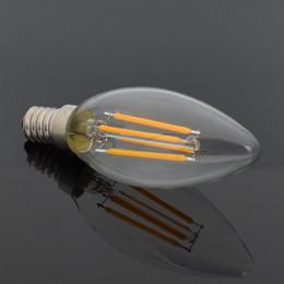$enCountryForm.capitalKeyWord Australia - E14 Led Candle Bulb Edison Led Bulb E14 220V 4W Vintage Filament Light C35 Energy Saving Bombillas for Chandelier Lighting 360 Degree