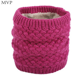 Velvet Scarves Wholesale Australia - Scarf Comfortable Velvet Men Scarf Women Autumn Winter and Casual Solid Collar Fashion Unisex Warm Winter Knitted
