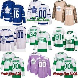 4b928eeb729 2019 New Third Toronto Maple Leafs Mitch Marner Frederik Andersen Morgan  Rielly Kasperi Kapanen Gardiner Nazem Kadri Patrick Marleau Jersey