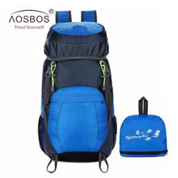97d8385f9ca9 Aosbos Outdoor Folding Climbing Backpack Men Women Lightweight Rucksack  Waterproof Sports Backpacks Camping Hiking Bag 6 Colors  300159 discount  waterproof ...