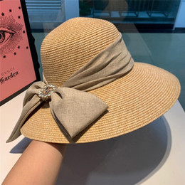 Vintage Male Hats Australia - Cool Straw Sun Hat For Women Men Unisex British Style Sunshade Beach Panama Jazz Top Hat Vintage Female Male 2019 Summer Vacation