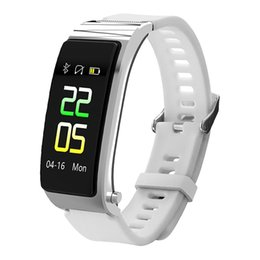 Chinese  Couple Watch Fitness Tracker Digital Display Screen Bluetooth Call Heart Rate Monitor Sports Pedometer Smart Bracelet manufacturers