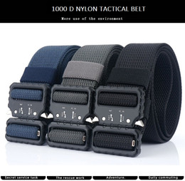 $enCountryForm.capitalKeyWord Australia - 1.5 in New Army Nylon Canvas Outdoor Casual Tactical Belt with Metal Buckle Adjustable Heavy Duty Training Waist Belt Hunting Accessories