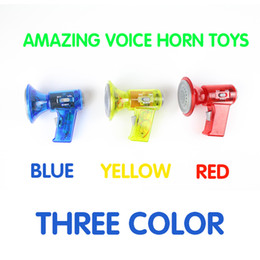 Speaker f1 online shopping - Children Variable Speaker Toys Funny Loudspeaker Cartoon Boys And Girls Colors Mix Hot Sale Fashion yj F1