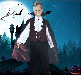 $enCountryForm.capitalKeyWord Australia - Halloween Kids TV & Movie Costumes Cosplay Clothing Six One Children Masquerade Vampire Up Show Suit Bring Cloak
