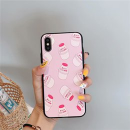 pretty phone covers 2019 - Phone Case for Designer Iphone Case Fashion Models Printed Pretty Design Cover for Iphone Xs X Xr Xs Max 8 7 6 Plus Shel