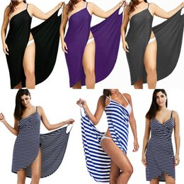 Oufisun Women Plus Size Pareo Beach Cover Up Wrap Dress Bikini Bathing Suit Cover Ups Robe De Plage Beachwear Femme Tunic Kaftan