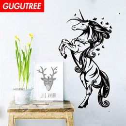 $enCountryForm.capitalKeyWord NZ - Decorate Home horse cartoon art wall sticker decoration Decals mural painting Removable Decor Wallpaper G-1929