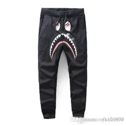 $enCountryForm.capitalKeyWord Australia - New men's tide brand men's casual pants printing thin section pants men and women feet sports trousers