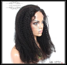 Full Lace Wig Curly 6a UK - 6A Curly Bubble hair Full&front&360&13*6 lace Wigs can customized color Peruvian Human Hair Wigs & Human Virgin hair For Black Women