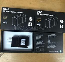 $enCountryForm.capitalKeyWord Australia - 1080P HD Camera USB Wall Charger US EU Charger W842 Wireless WIFI P2P IP Camera AC Adaptor Socket Wifi Surveillance Camera With Retail Box