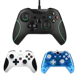 computer wireless controller NZ - Wired USB Controller For Microsoft Xbox One PC Controller Xone Gamepad Joystick Mando for Xbox One Slim Computer USB Controle