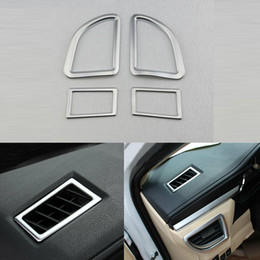 $enCountryForm.capitalKeyWord Australia - 4x For Toyota Corolla 2013-14 Car aUTO Chrome ABS Dashboard Air vents Trim Cover Trim fRAME