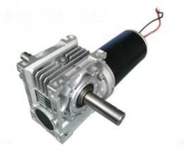 $enCountryForm.capitalKeyWord Australia - 80ZYT145 24V 400W 3000RPM 1.27NM 50:1 IEC63B14 Double shaft dc gear motor for driving simulator