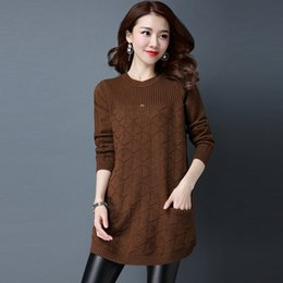 $enCountryForm.capitalKeyWord Australia - Wholesale Cheap New Autumn Winter Hot Selling Women's Fashion Casual Warm Nice Sweater L590 drop shipping