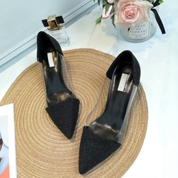 $enCountryForm.capitalKeyWord Australia - Designer High Heels Red Bottom Pointed Toe Pumps TOP quality 100% Genuine leather Stilettos Sexy Slip Dress Shoes Party shoes hk190507