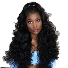 $enCountryForm.capitalKeyWord Australia - All Density Bleached Knots Deep Wave Curly Wigs For African Americans Lace Front Wig Taylor Swift Style For Black Women