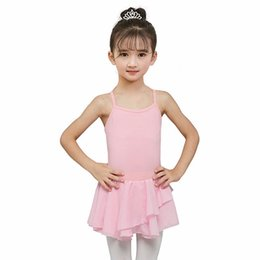 $enCountryForm.capitalKeyWord Australia - 2-10y Girls Ballet Dress Gymnastics Leotard Long Sleeve Skirted Ballet Clothes Dance Wear With Chiffon Skirts T8
