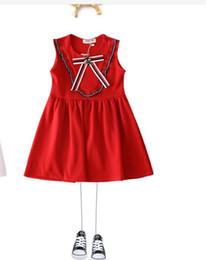 White Character Skirt Australia - New Summer Girl Bee Knitting Skirt, vest skirt and kid skirt