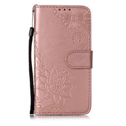 $enCountryForm.capitalKeyWord Australia - Dandelion mandala flower embossed pu leather flip card multi-function anti-fall phone case for Apple 2019 three new models for iphone 6.1