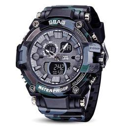 $enCountryForm.capitalKeyWord Australia - Fashion Gifts SBAO Watch LED Men Waterproof Sport Watch Shock Digital Electronic quartz watch