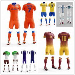 f49a521c2 The latest professional design football uniform team practice soccer bag  jersey custom any logo