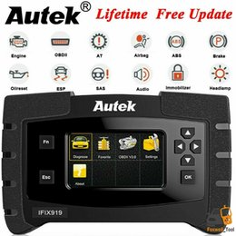 Diagnostic tools cable online shopping - ABS SRS EPB Oil Diagnostic Tool Full System Scanner OBD2 Car Code Reader Autek