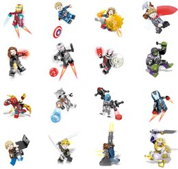 mini action figures building block Canada - SY1311 Aven 4 Building Blocks Super Hero Figures Toys Joker Toys mini Action Figures Bricks