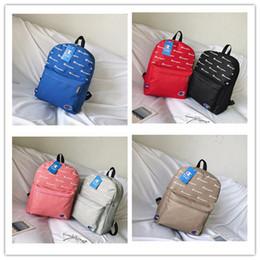 Laptop 15.6 inch china online shopping - Champions Brand Men Women Zipper Backpack Shoulder Bags Designer Tote bags Girl Travel School Bags Color Printed Wallet Holder C3275