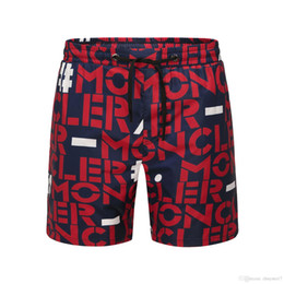 $enCountryForm.capitalKeyWord Australia - New Men Luxury Mon Brand beach pants France Design Fashion Short Sleeve Casual Men's T Shirt Summer Gym Shorts free shipping