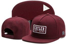 hater gold snapback 2019 - Top Selling Adjustable CAYLER & SONS snapbacks Hats snapback caps Cayler and sons hat baseball hats cap hater diamond sn