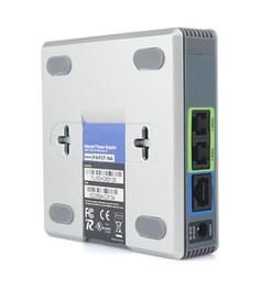 venda por atacado Adaptador de voz LINKSYS PAP2 PAP2-NA PAP2T-NA telefone VOIP SIP VoIP Phone Adapter PAP2T