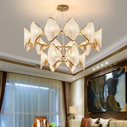 Rustic pendant lamp online shopping - New arrival modern round crystal chandelier lighting gold creative chandeliers lights led pendant lamp for living room bedroom