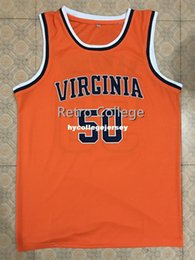 7f268abf959 Men's UNIVERSITY OF VIRGINIA COLLEGE RALPH SAMPSON Basketball Jersey  Embroidery Stitched Customize any name and name XS-6XL vest Jerseys Nca