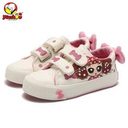 denim sneakers for girls 2020 - Canvas Children Shoes 2019 New Baby Girls Princess Shoes Brand Kids Sneakers for Girls Denim Child Flat Toddler cheap de