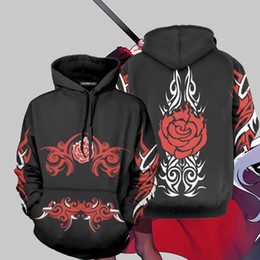 $enCountryForm.capitalKeyWord Australia - 2019 Anime RWBY Season One Hoodie 3D Sweatshirt Cosplay Costume Zip Up Hooded Jacket Coat Men Women Fashion RWBY Hoodies